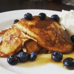 Healthy Banana and Blueberry Pancakes